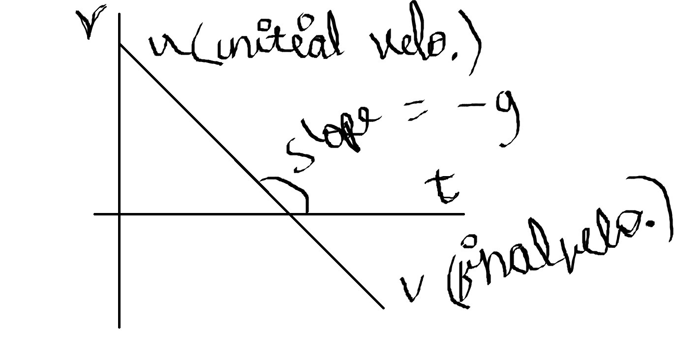 Draw the velocity time graph and speed time graph of a