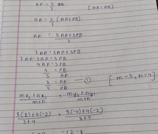If A And B Are    Respectively Find The