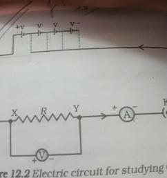 draw the circuit diagram used to verify ohms law brainly in this is the circuit diagram i used [ 1548 x 1072 Pixel ]