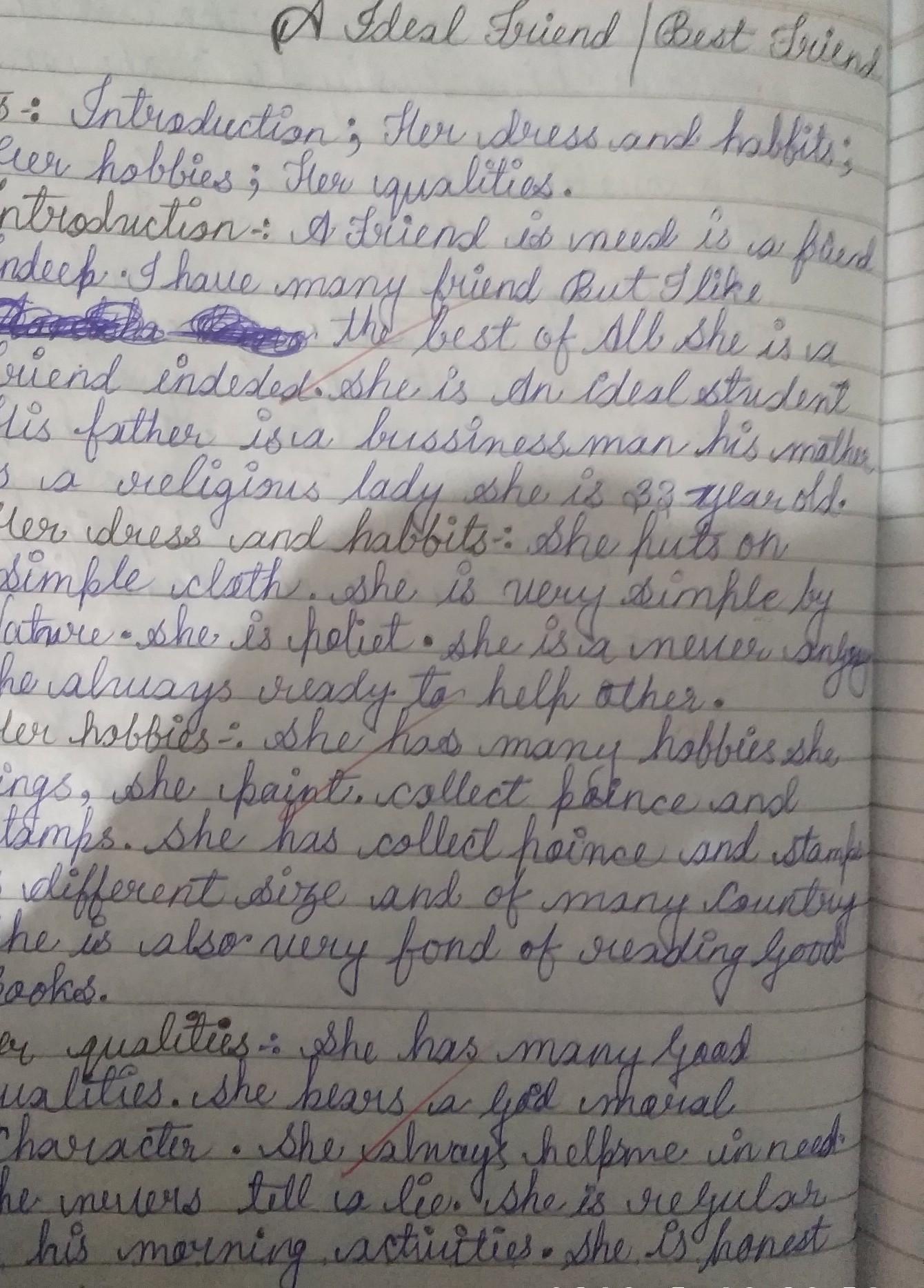 Write A Descriptive Paragraph In 100 120 Words To Describe