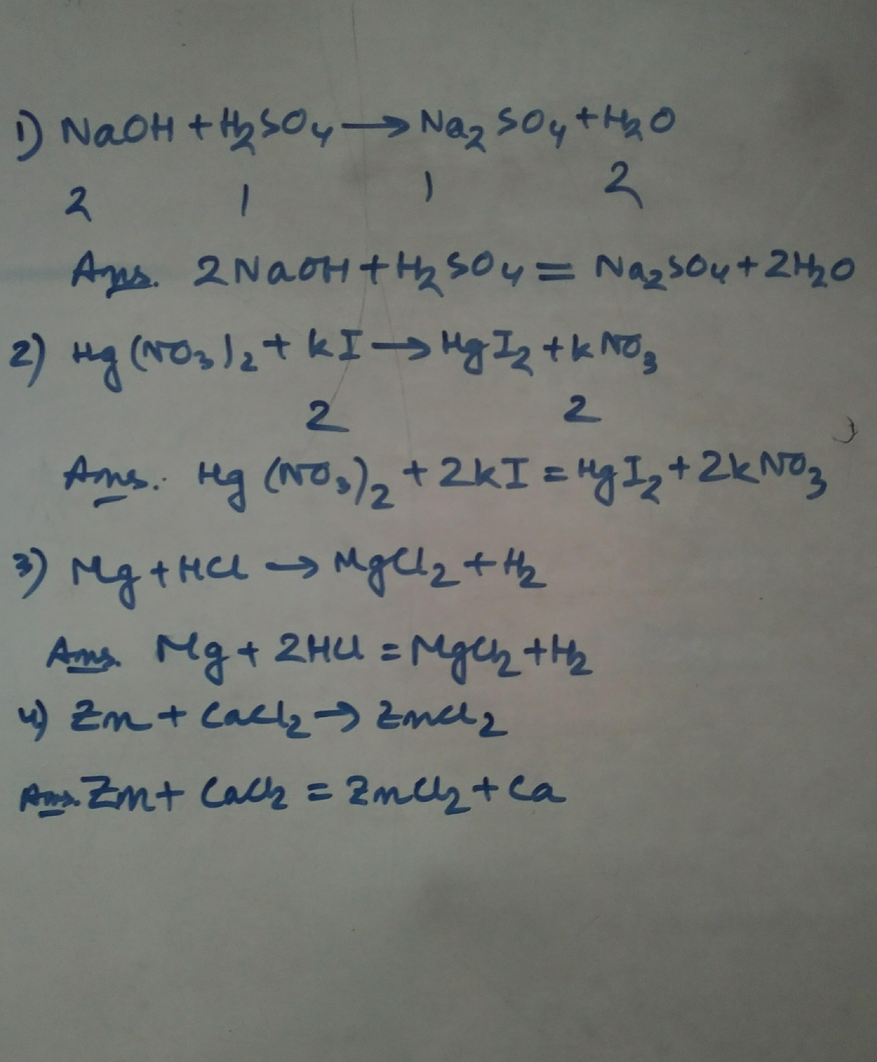 Naoh H2so4 : h2so4, Balance, Following, Chemical, Equation?, NaoH+H2So4---------Na2so4+H2o., Brainly.in