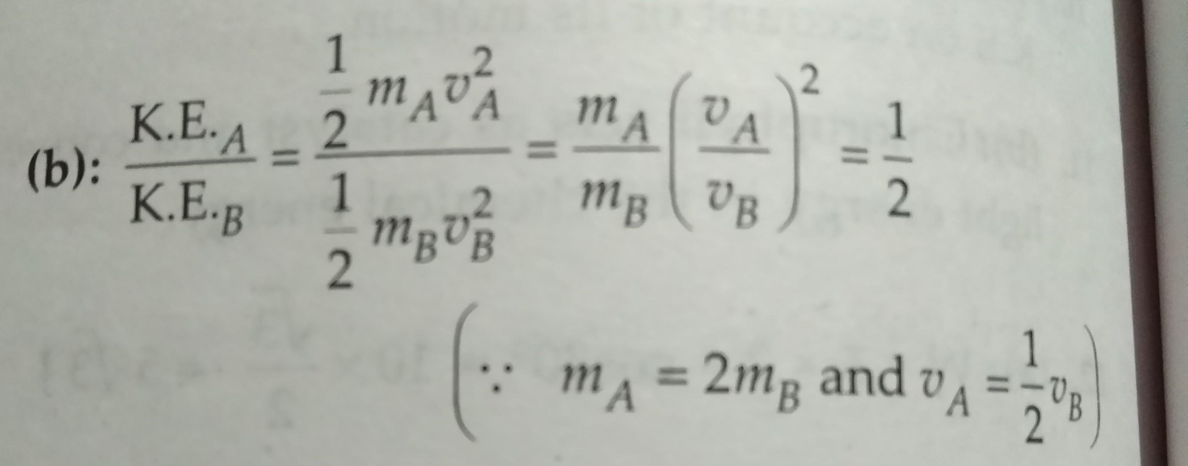 Kinetic Energy Equation Doubling Velocity