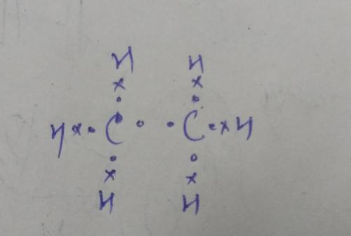small resolution of molecular formula is c2h6 electron dot structure is in the attachment