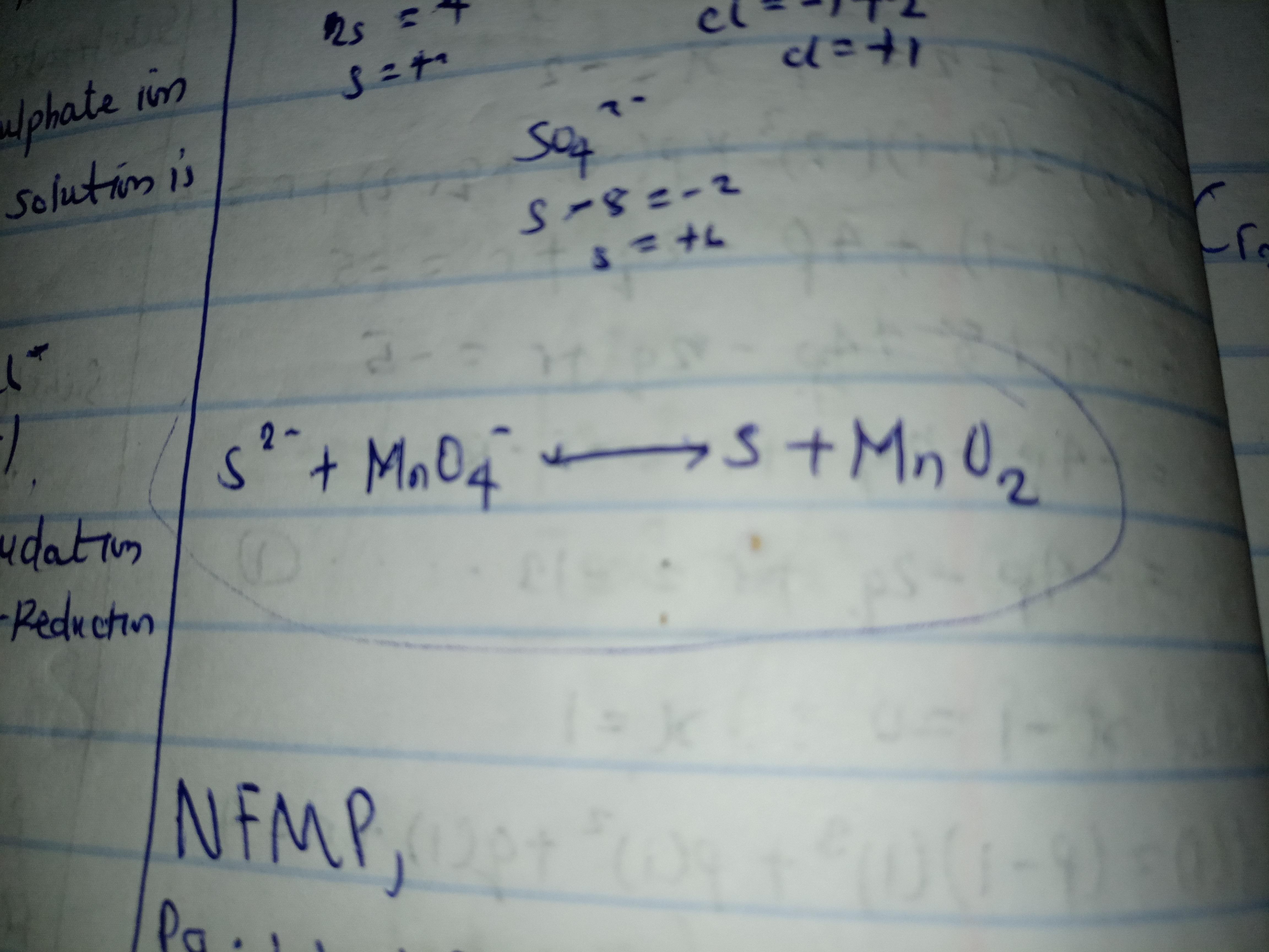 Balance The Redox Equation In Acidic Medium