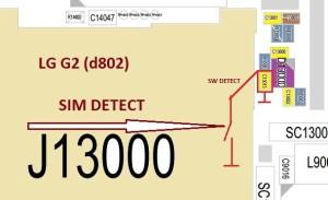 LG G2 (d802) не видит SIM карту. Solution SIM detect