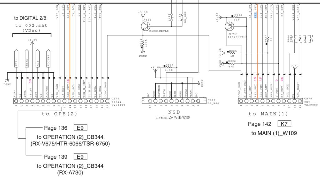 AV-ресивер YAMAHA RX-V673 не включается