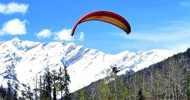 हिमाचल प्रदेश में बेहतरीन 5 पैराग्लाइडिंग साइट