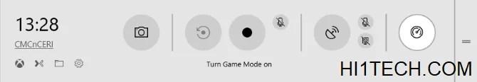 تفعيل وضع اللعب في ويندوز 10