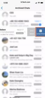 استعادة رسائل الوتساب المؤرشفة رسائل واتساب المحذوفة