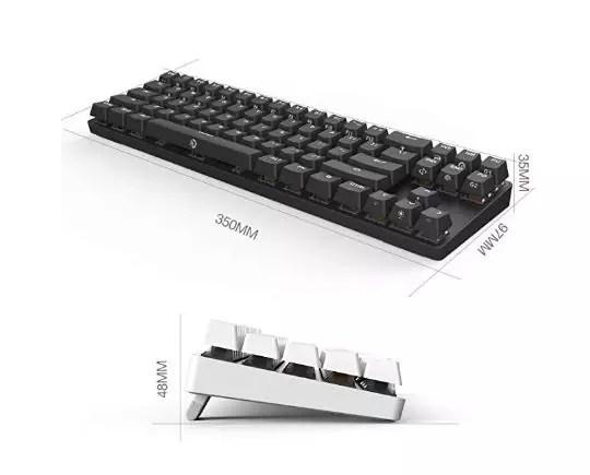 أفضل لوحة مفاتيح الألعاب DREVO Calibur