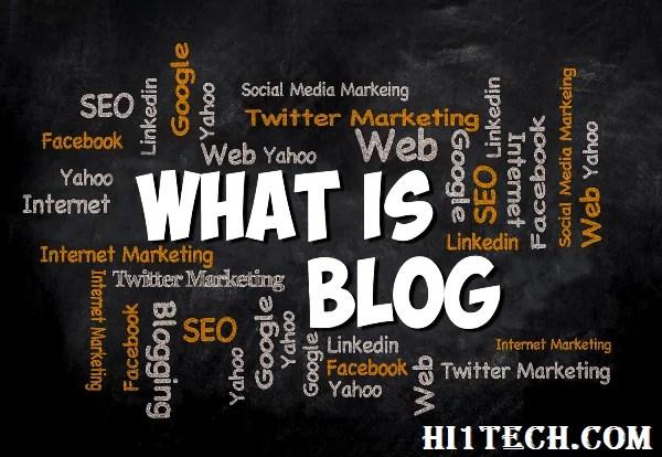 ما هي المدونة طريقة أنشاء مدونة الربح من الأنترنت