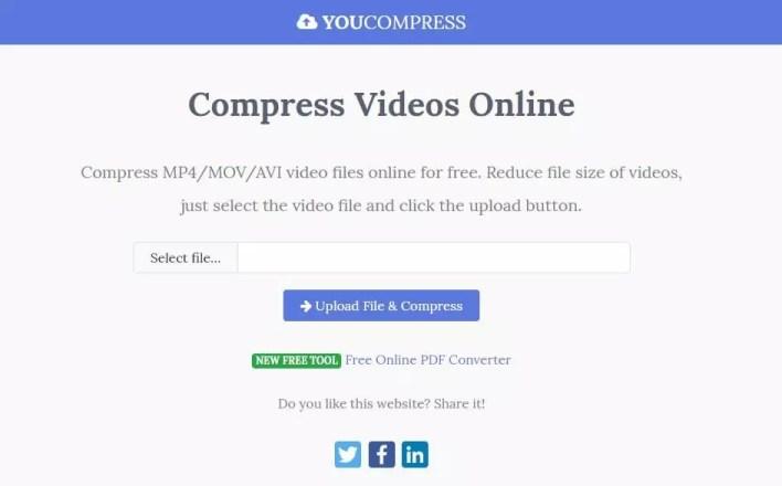 تصغير حجم الفيديو اليك 5 مواقع لـ تقليل حجم الفيديو وبنفس الجودة