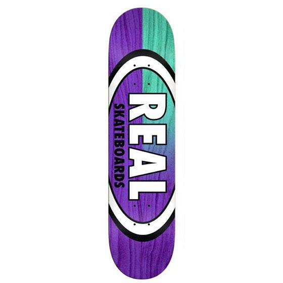 REAL スケボー デッキ 通販 SKINNY DIP OVAL 7.75インチ