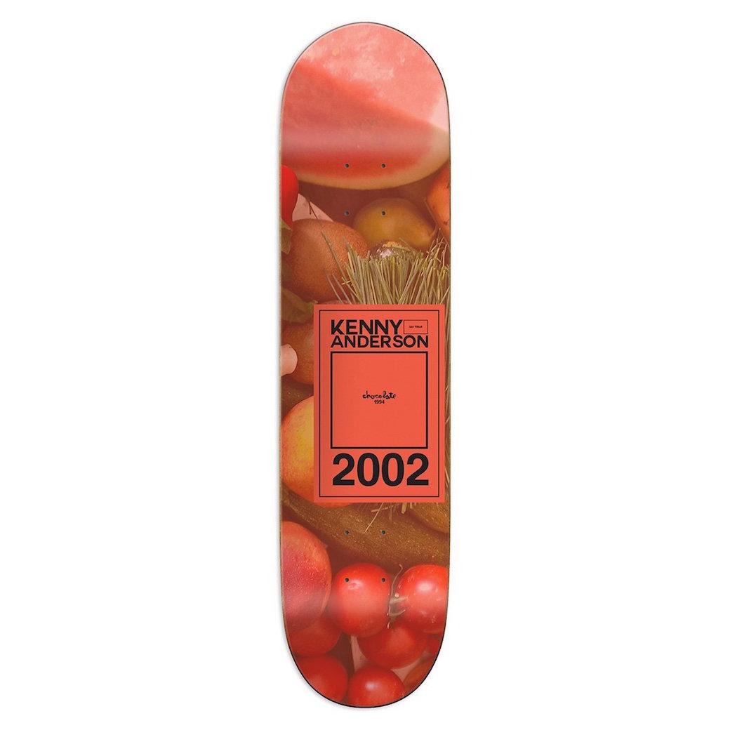CHOCOLATE デッキ スケボー 通販 INAUGURAL ケニー・アンダーソン 8.125インチ