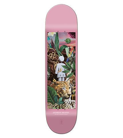 スケボー 通販 デッキ GIRL Jungle アンドリュー・ブロフィー 8.25インチ