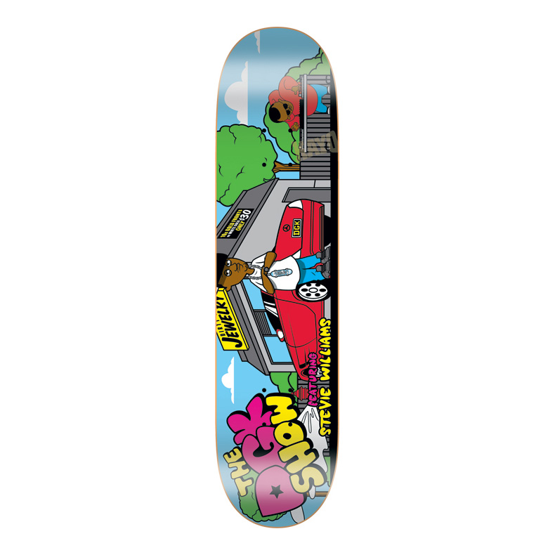 DGK Skateboards スケボー スケートボード デッキ 通販 Deck Stevie Williams THE DGK SHOW