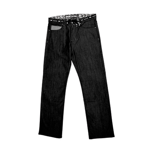 DGK Skateboards スケボー スケートボード 通販 ALL DAY JEAN Relax Fit Black