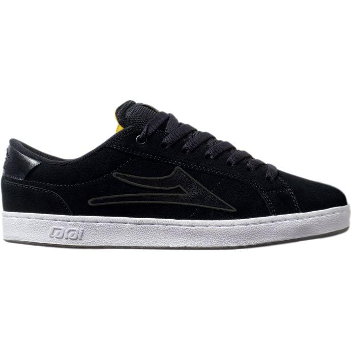 LAKAI LIMITED FOOTWEAR MJ6 Black Suede 01