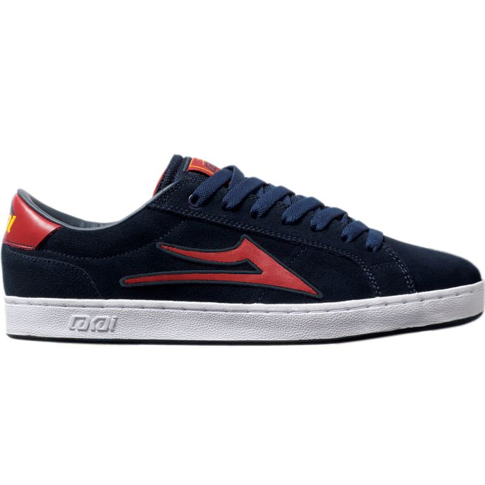 LAKAI LIMITED FOOTWEAR MJ6 Navy Suede 01