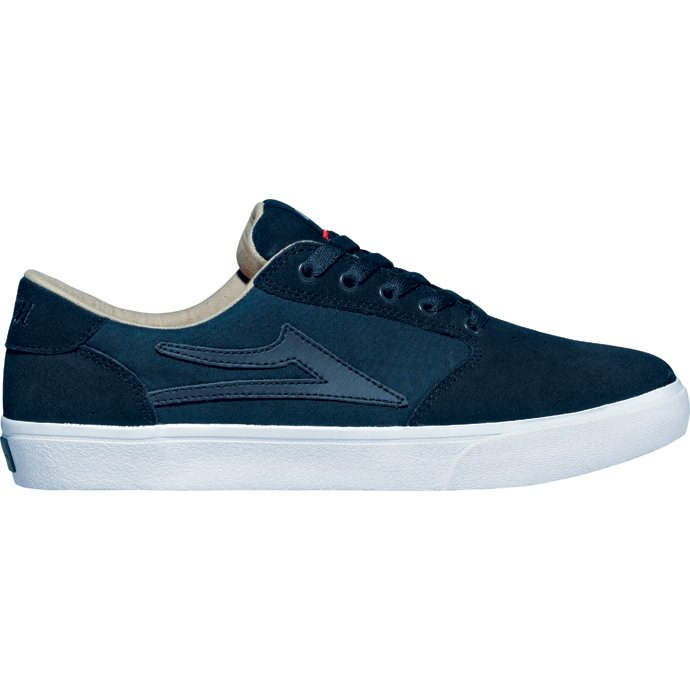 LAKAI LIMITED FOOTWEAR PICO Navy Suede 01