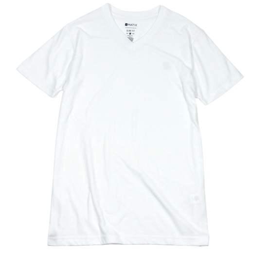 MATIX CLOTHING Monostack V-Neck T-Shirt 01