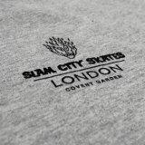 Slam City Skates スラムシティスケーツ ロンドン クラシック ロゴ Tシャツ 通販 Classic Logo T-Shirt バックプリント