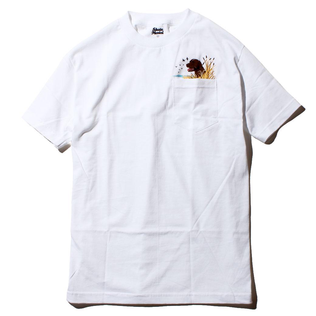 SKATE MENTAL LAB ポケット Tシャツ