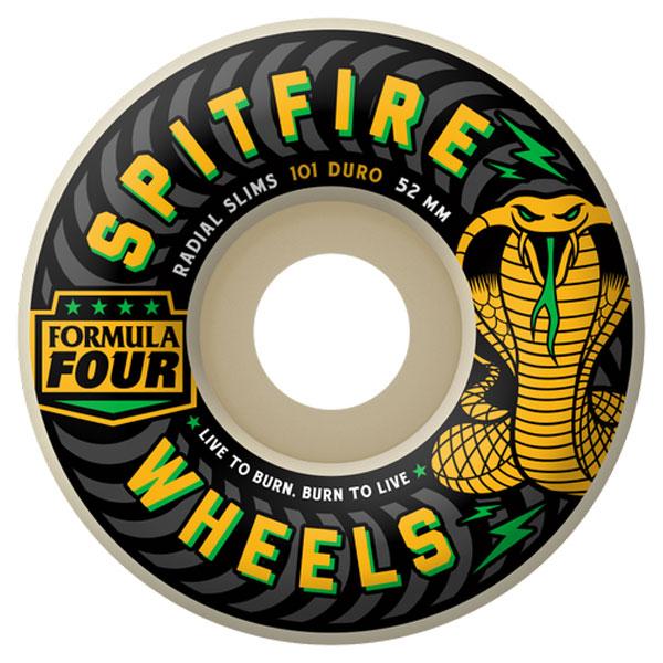 SPITFIRE F4 101D RADIAL SLIM SPEED