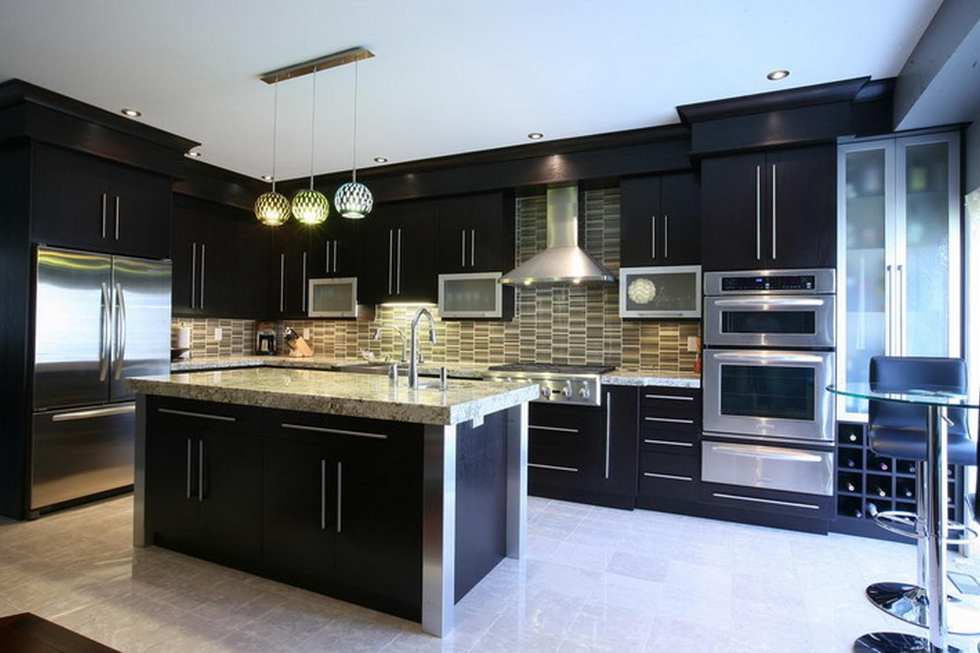 Dapur Moden Kontemporari  Desainrumahidcom