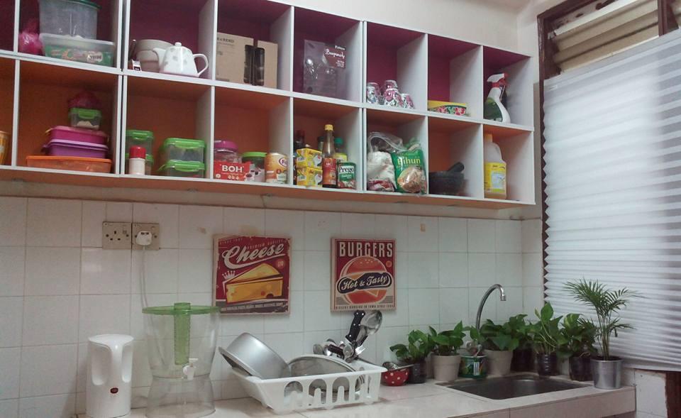 DIY Kabinet Dapur Dengan RM94 Sahaja Inspirasi DIY  Hiasmy