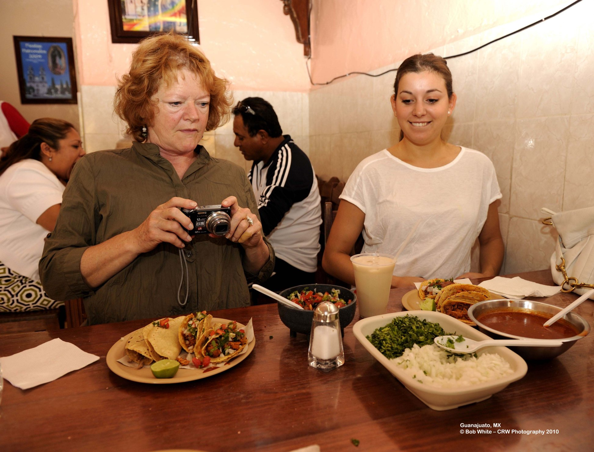 96 Sharon photos her food