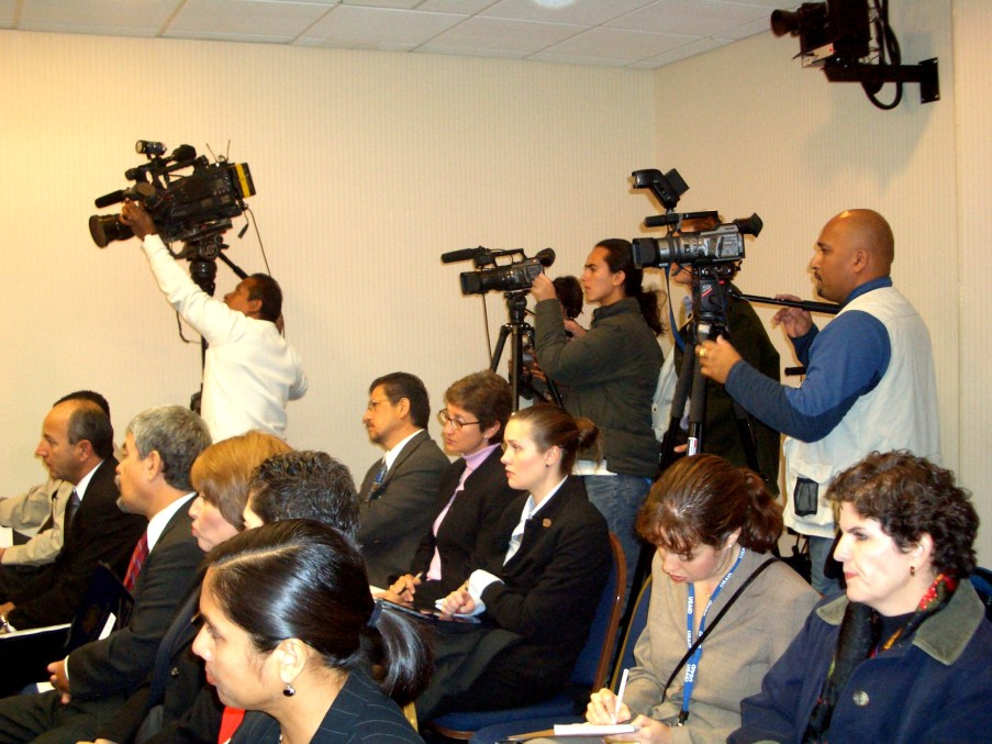 PRESS CONFERENCE WASHINGTON