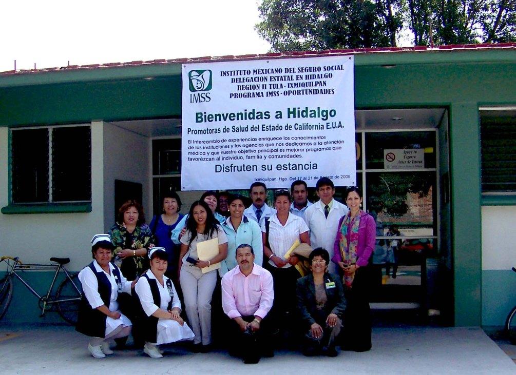 Promotoras Exchange (California to Zacatecas)