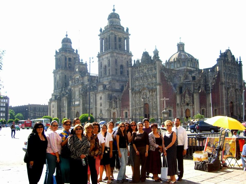 Grupo en catedral 2006 043
