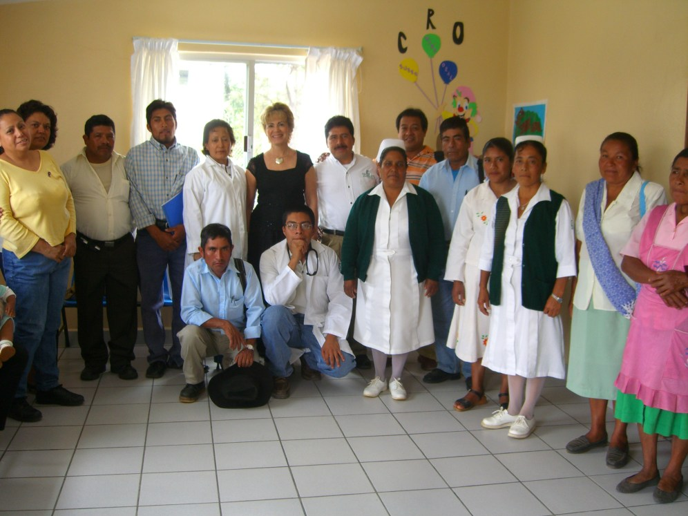 grupo en UMR La Herradura Oaxaca 2006 087