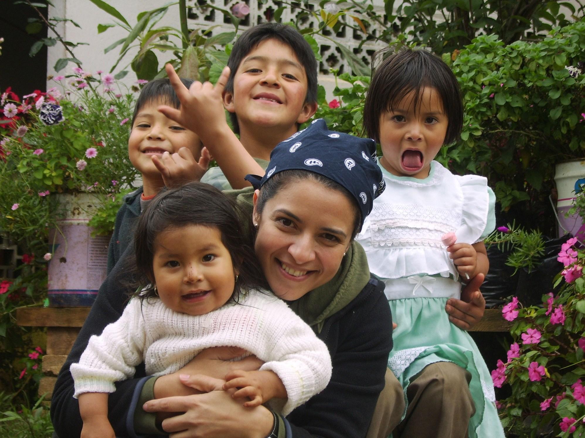 Rosalina Cazares mi familia en Oaxaca
