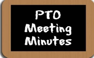 PTO Meeting Minutes April 14, 2016