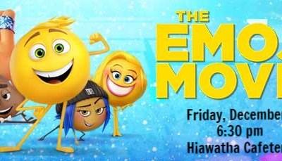 The Emoji Movie – Family Movie Night at Hiawatha