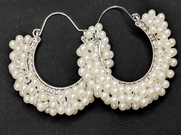 Pearl Bali Earrings