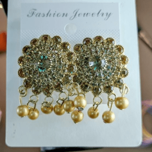 Golden Earring Design with Price in Pakistan 2021