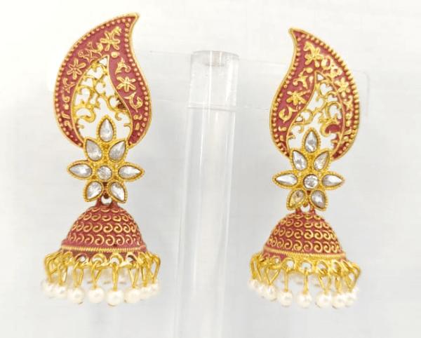 Peacock Jhumka Earrings Design with Price in Pakistan 2021