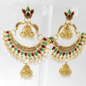 Multicolor Jhumki Earrings design with Price in Pakistan 2021