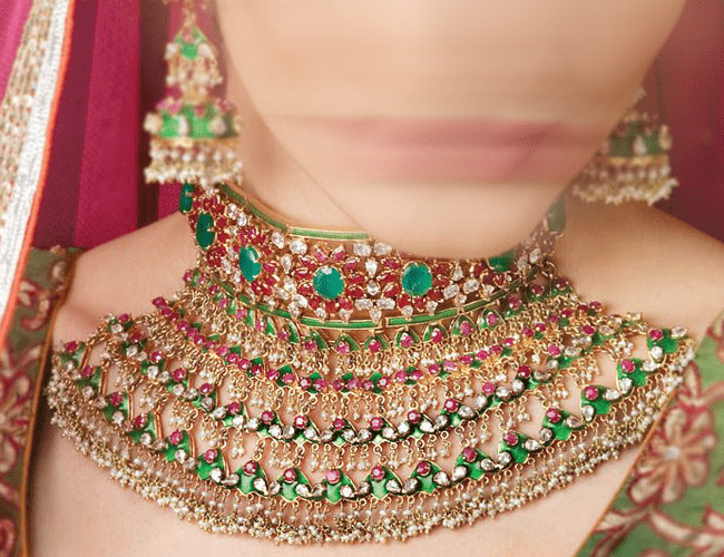 Artificial Jewellery Designs for Wedding in Pakistan 2021