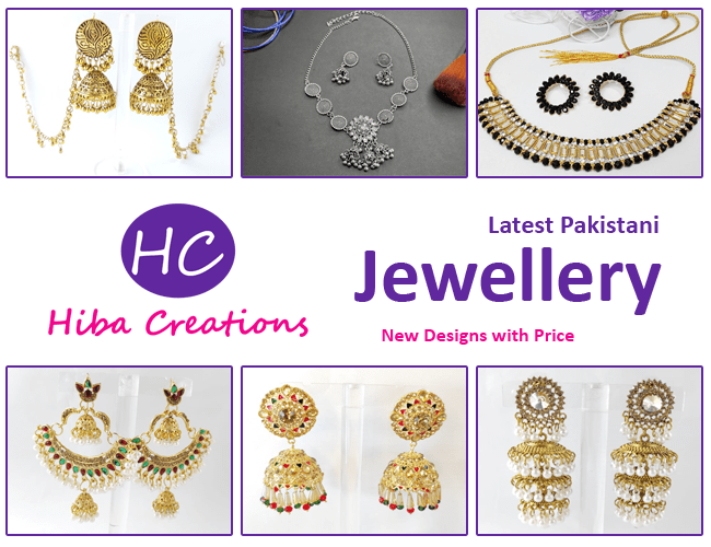 Latest Pakistani Jewellery Designs with Online Price 2021