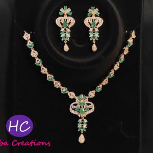 Zircon Necklace Set Design with Price in Pakistan 2021
