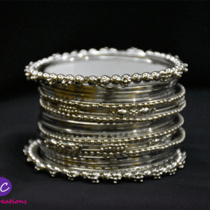 Silver Metal Bangles Set Design with Price in Pakistan 2021 Online