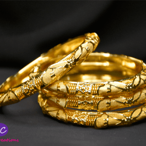 Gold Plated Bangles Design in Pakistan 2021 Online