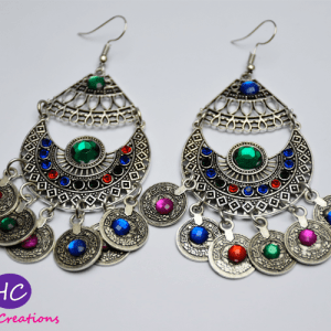 Antique Silver Earrings Design with Price in Pakistan 2021 Online