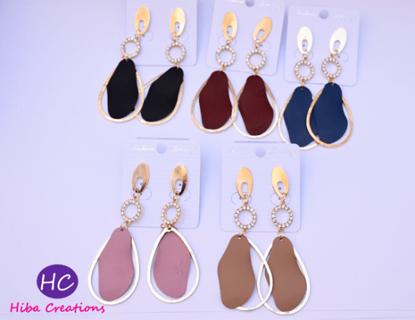 Droping Earrings Design with Price in Pakistan online 2021