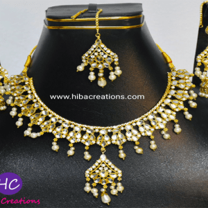 Collar Set with Earrings and Bindi Design with Price in Pakistan 2021 Online